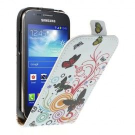 Flip Case Samsung Galaxy Ace 3 - Butterflies