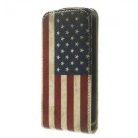 Flip Case Samsung Galaxy S5 Mini - American Flag
