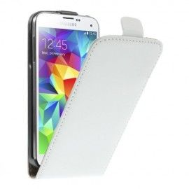 Flip Case Samsung Galaxy S5 Mini - Wit
