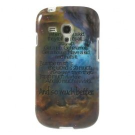 TPU Hoesje Samsung Galaxy S3 Mini - Life Quote