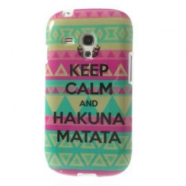 TPU Hoesje Samsung Galaxy S3 Mini - Keep Calm