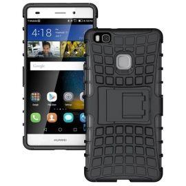 Kickstand Hoesje Huawei P9 Lite - Zwart