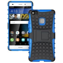 Kickstand Hoesje Huawei P9 Lite - Blauw