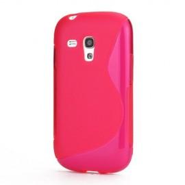 S-Curve Hoesje Samsung Galaxy S3 mini - Roze