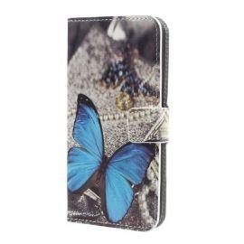 Book Case Samsung Galaxy A5 (2017) - Blauwe Vlinder