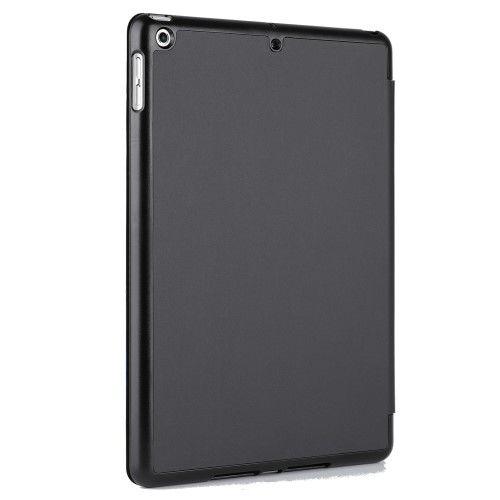 Tri-Fold Book Case Smart iPad 9.7 (2017) - Zwart