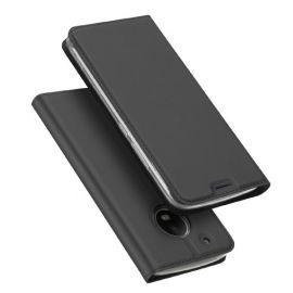 Dux Ducis Folio Case Motorola Moto G5 Plus - Donkergrijs