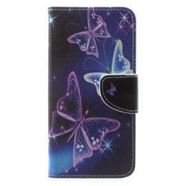 Book Case Hoesje Huawei Mate 10 Lite - Vlinders