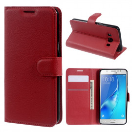 Book Case Samsung Galaxy J5 (2016) Hoesje - Rood