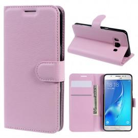Book Case Samsung Galaxy J5 (2016) Hoesje - Pink
