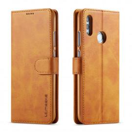 Luxe Book Case Huawei P Smart (2019) Hoesje - Bruin
