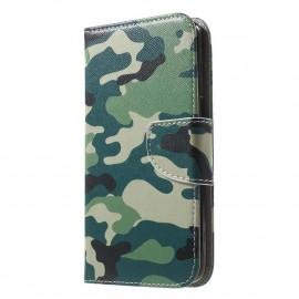 Book Case Samsung Galaxy J5 (2016) Hoesje - Camouflage