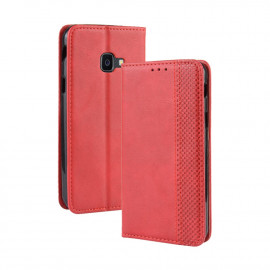 Vintage Book Case Samsung Xcover 4 / 4s Hoesje - Rood