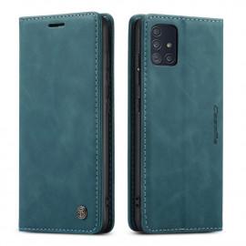 CaseMe Book Case Samsung Galaxy A51 Hoesje - Groen