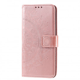Bloemen Book Case Huawei P Smart (2020) Hoesje - Rose Gold