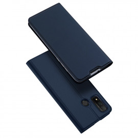Dux Ducis Skin Pro Huawei P Smart (2020) Hoesje - Blauw