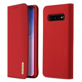 Dux Ducis Wish Samsung Galaxy S10 Hoesje - Rood