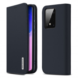 Dux Ducis Wish Samsung Galaxy S20 Ultra Hoesje - Blauw