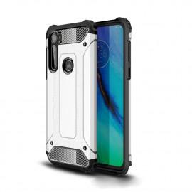Armor Hybrid Motorola Moto G Pro Hoesje - Zilver