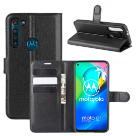 Book Case Motorola Moto G8 Power Hoesje - Zwart