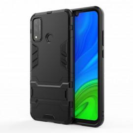 Armor Kickstand Huawei P Smart (2020) Hoesje - Zwart
