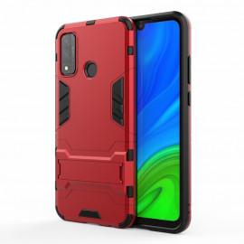 Armor Kickstand Huawei P Smart (2020) Hoesje - Rood