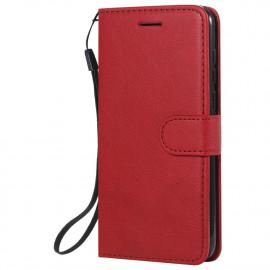 Book Case Huawei Y5P Hoesje - Rood