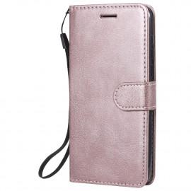 Book Case Huawei Y5P Hoesje - Rose Gold