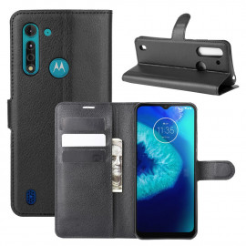 Book Case Motorola Moto G8 Power Lite Hoesje - Zwart
