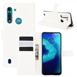 Book Case Motorola Moto G8 Power Lite Hoesje - Wit