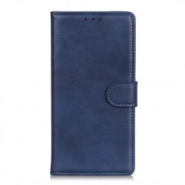 Luxe Book Case Huawei Y6P Hoesje - Blauw