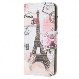 Book Case Huawei Y6P Hoesje - Eiffeltoren