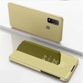 Mirror View Case Huawei P Smart (2020) Hoesje - Goud