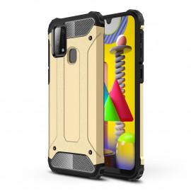 Armor Hybrid Samsung Galaxy M31 Hoesje - Goud