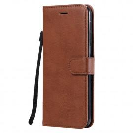 Book Case Samsung Galaxy M31 Hoesje - Bruin