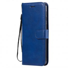 Book Case Samsung Galaxy M31 Hoesje - Blauw