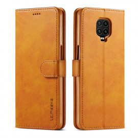 Luxe Book Case Xiaomi Redmi Note 9 Pro / 9S Hoesje - Bruin
