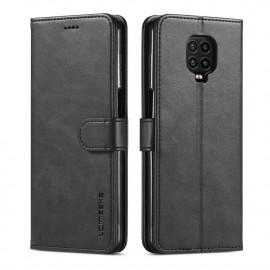 Luxe Book Case Xiaomi Redmi Note 9 Pro / 9S Hoesje - Zwart