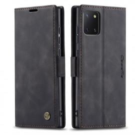 CaseMe Book Case Samsung Galaxy Note 10 Lite Hoesje - Zwart