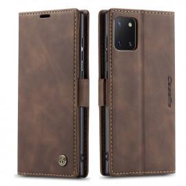 CaseMe Book Case Samsung Galaxy Note 10 Lite Hoesje - Donkerbruin