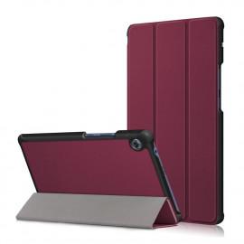 Tri-Fold Book Case Huawei MatePad T8 Hoesje - Bordeaux