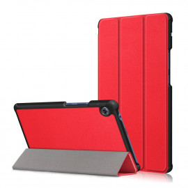 Tri-Fold Book Case Huawei MatePad T8 Hoesje - Rood