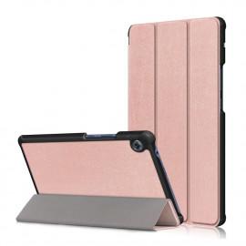 Tri-Fold Book Case Huawei MatePad T8 Hoesje - Rose Gold