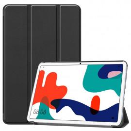 Tri-Fold Book Case Huawei MatePad 10.4 Hoesje - Zwart