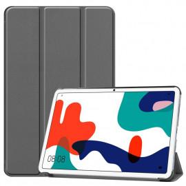 Tri-Fold Book Case Huawei MatePad 10.4 Hoesje - Grijs