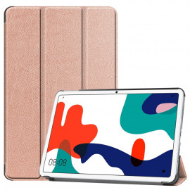 Tri-Fold Book Case Huawei MatePad 10.4 Hoesje - Goud