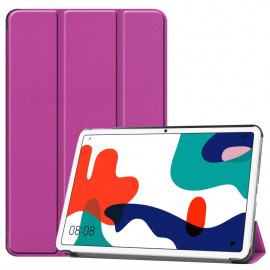 Tri-Fold Book Case Huawei MatePad 10.4 Hoesje - Paars