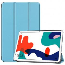 Tri-Fold Book Case Huawei MatePad 10.4 Hoesje - Lichtblauw