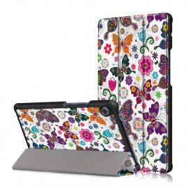 Tri-Fold Book Case Huawei MatePad T8 Hoesje - Vlinders