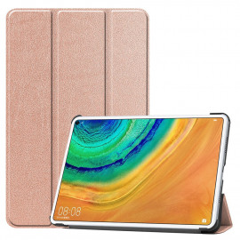 Tri-Fold Book Case Huawei MatePad Pro 10.8 Hoesje - Rose Gold